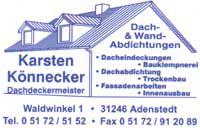 Dachdeckerei Karsten Könnecker